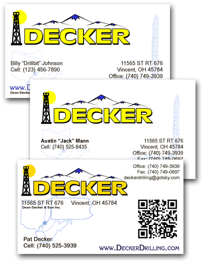 full-color corporate business cards, $79 per version, 1000 per box.